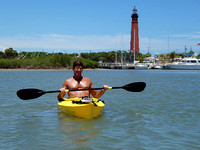 It was a glorious day – as you can see. At this point, the water was pretty paddle-friendly...