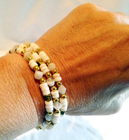 ...but they were primarily designed to be two separate wrap-bracelets...