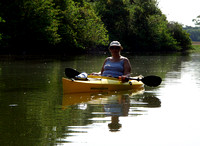 "Cynthia would later ask ""Why don't I do this more often?"" – she is a veteran paddler with her own yak."